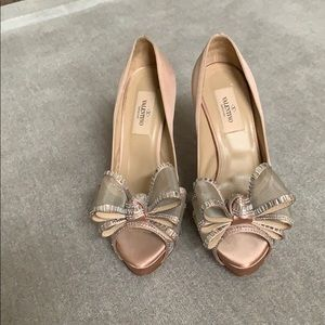 Valentino heels with platforms.